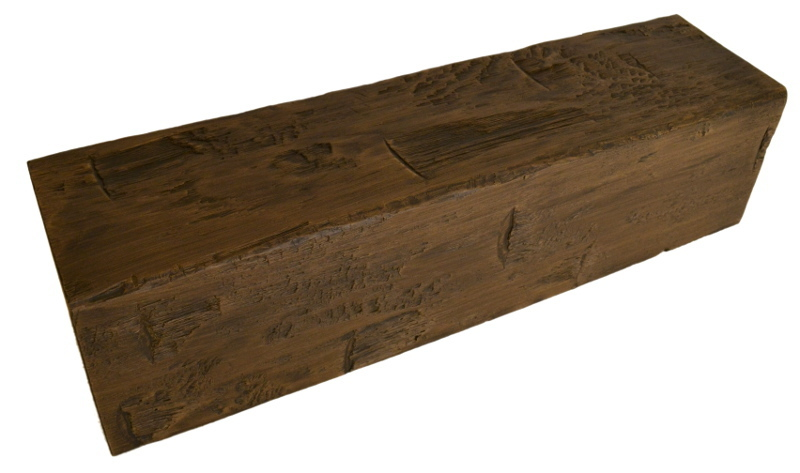 Hand hewn 12 x 12 x 14 39 for Faux wood beams com