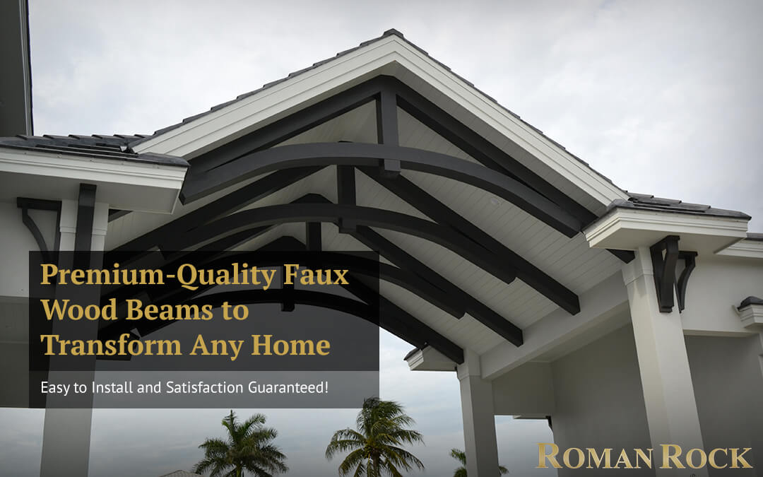 Premium-Quality Faux Wood Beams to Transform Any Home: Easy to Install and Satisfaction Guaranteed!